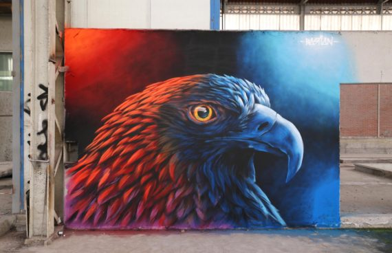 mural-pared-eagle