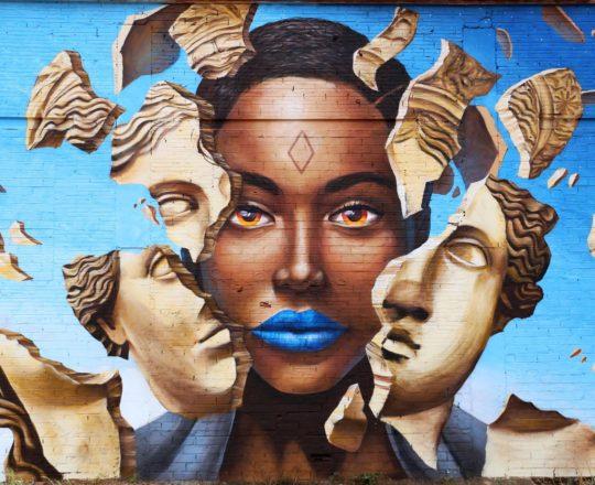 Mural Freedom Printing Walls Street Art Festival