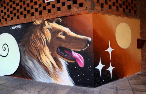 noche-blanca-oviedo-mural-collie